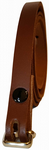 "12.5 mm Brown Snap Fit Leather Belt (½"")"